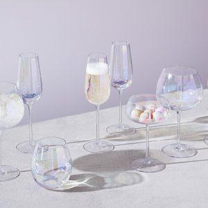 Чаша за шампанско Pearl 4бр