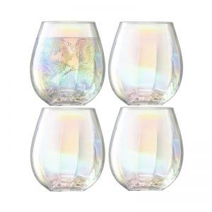 Чаша за вода Pearl 4бр
