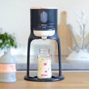 Bib'Еxpresso BEABA - Иновативен уред за приготвяне на бебешко мляко 2-в-1