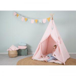 Типи Палатка Розово