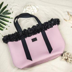 Miami SUMMER Bag - пепел от рози - L размер