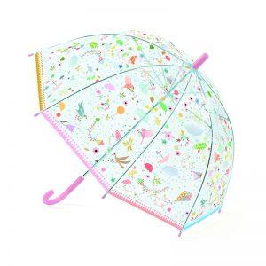"""Детски чадър с ръчно отваряне """"Пъстри светлинки"""" - Djeco"""