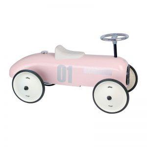 Мини спортна кола за яздене Vilac, бледо розова, vintage