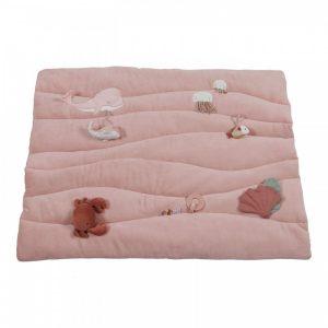Бебешка постелка за игра Ocean Pink - Little Dutch