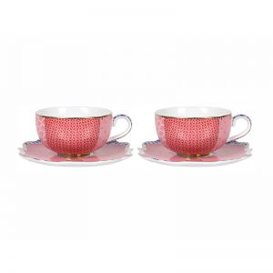 Порлцеланов комплект/чаша еспресо с чинийка Royal (2бр.)