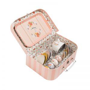 "Куфар-играчка: сервиз за чай ""Les Parisiennes""-Moulin Roty"