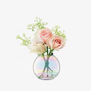 Декоративна ваза с перлен отблясък Pearl (11cm)