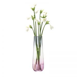 Декоративна ваза в розовосив оттенък Dusk (36 cm)